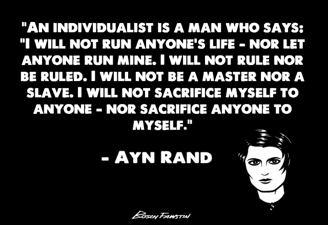 Ayn Rand on The Individualist