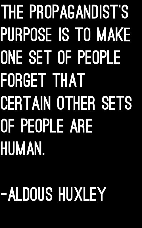 Huxley quote