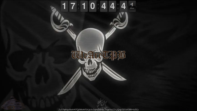 screen shot on 1.14.15 of thepiratebay.se homepage, Source: lackingmaterial.com