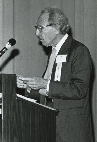 Fritz Machlup in his later years, Source: Unkown