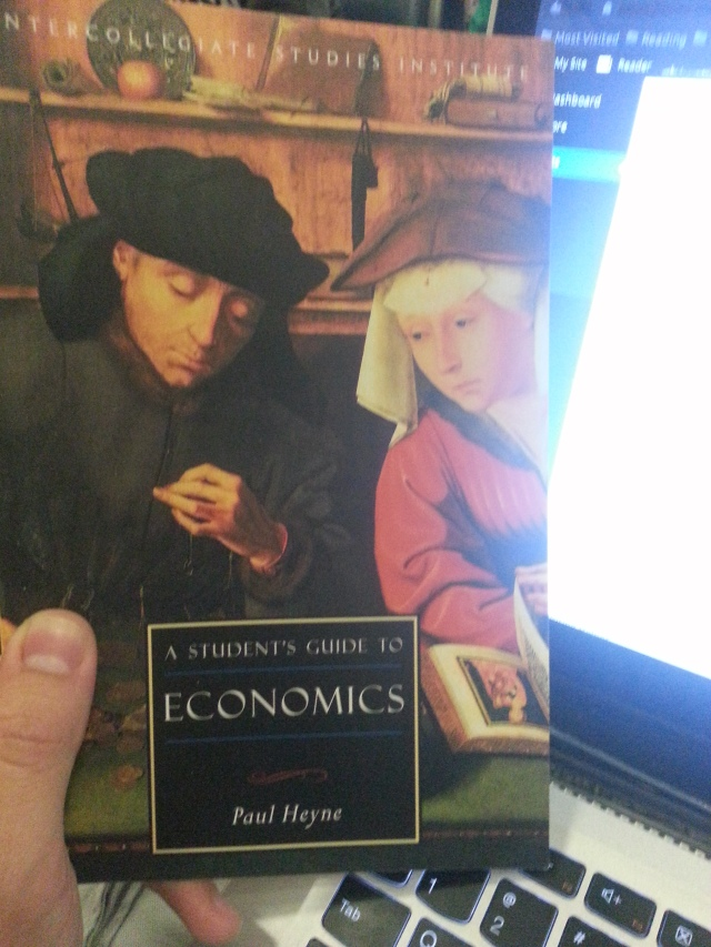 A Student's Guide to Economics by Paul Heyne