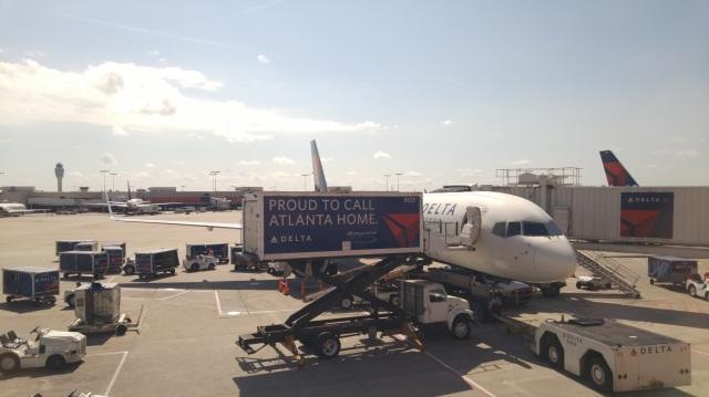 Taken at gate A7, Atlanta