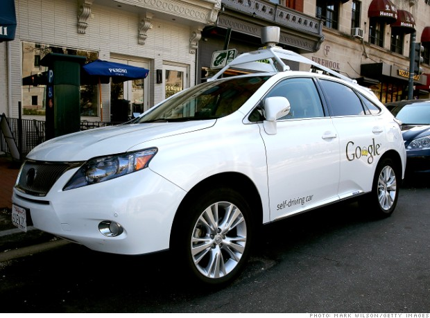The self-driving Google Car, Source: Mark Wilson/Getty Images