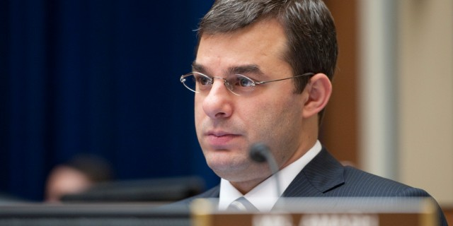 UNITED STATES Ð MAY 10: Rep. Justin Amash, R-Mich., listens during the House Oversight and Government Reform Committee hearing on