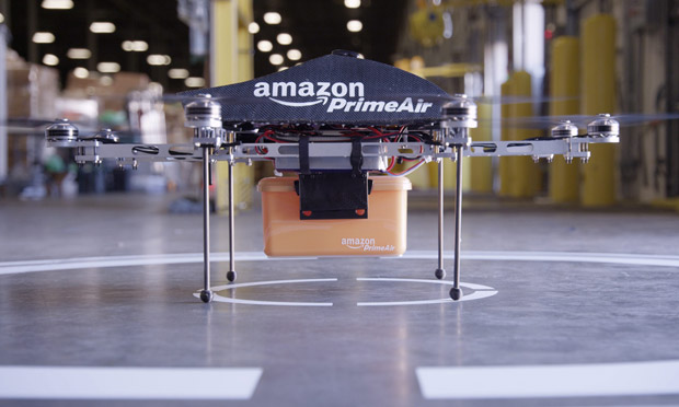 Amazon's drone, Source: Amazon/EPA