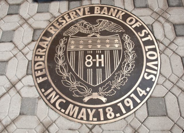 St. Louis Federal Reserve Seal in the main lobby, source unknown